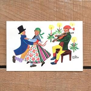 クリスマスカード「Kerstin Frykstrand(シェスティン・フリュークストランド)」《210208-07》