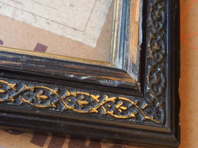 フランスアンティーク 木製フレーム