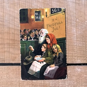クリスマスカード「Jenny Nyström(イェニー・ニィストルム)」《200311-01》