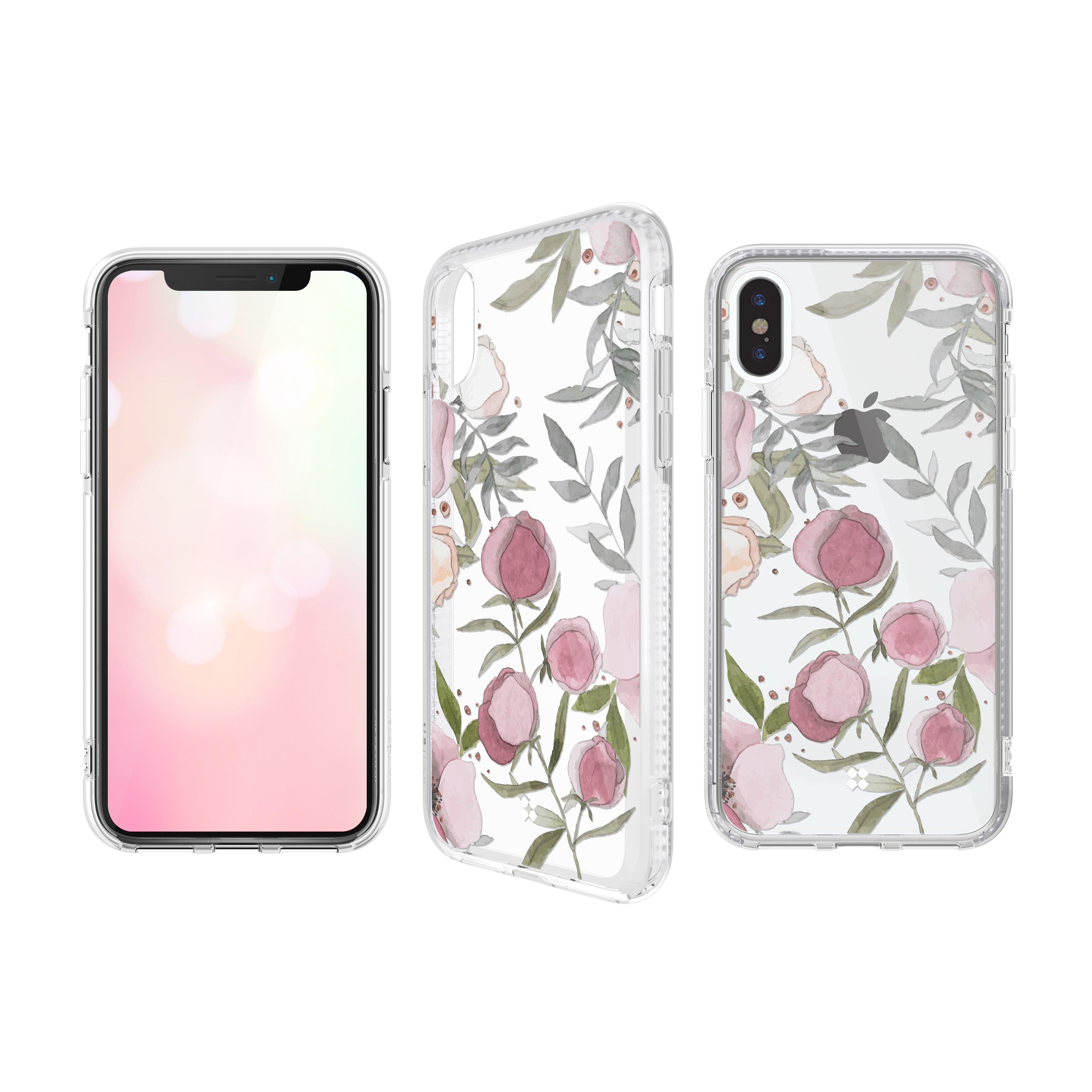 CaseStudi ケーススタディ iPhone Xs / X / XR / Xs Max  PRISMART Case 2018 ローズ 花 Rose 耐衝撃 ケース 国内正規品