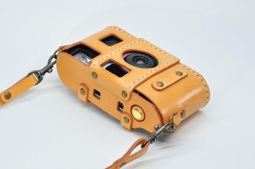 ヌメ革「写ルンです」カメラケース1型