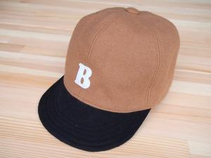 """ウール ベースボールキャップ 60㎝ """"WOOL BASE BALL CAP""""(BEIGE """"B"""" 60)"""