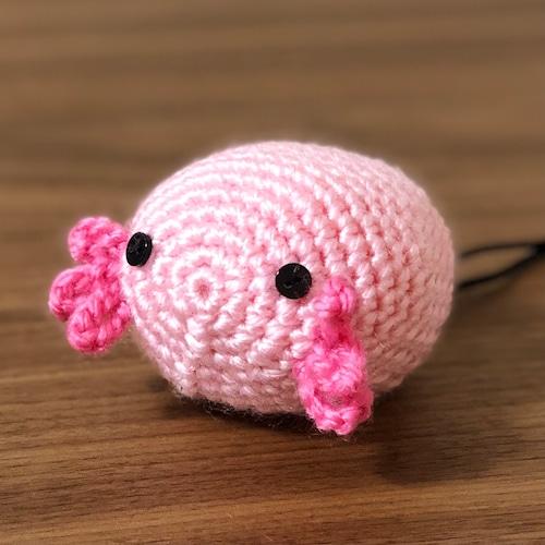 ウーパールーパー ピンク チョークボール cb-606