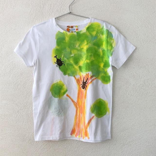 大人Tシャツ(レディースM)かぶとむしとクワガタ GM20827-1
