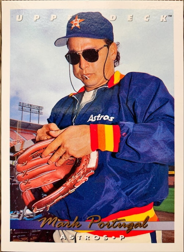 MLBカード 93UPPERDECK Mark Portugal #099 ASTROS