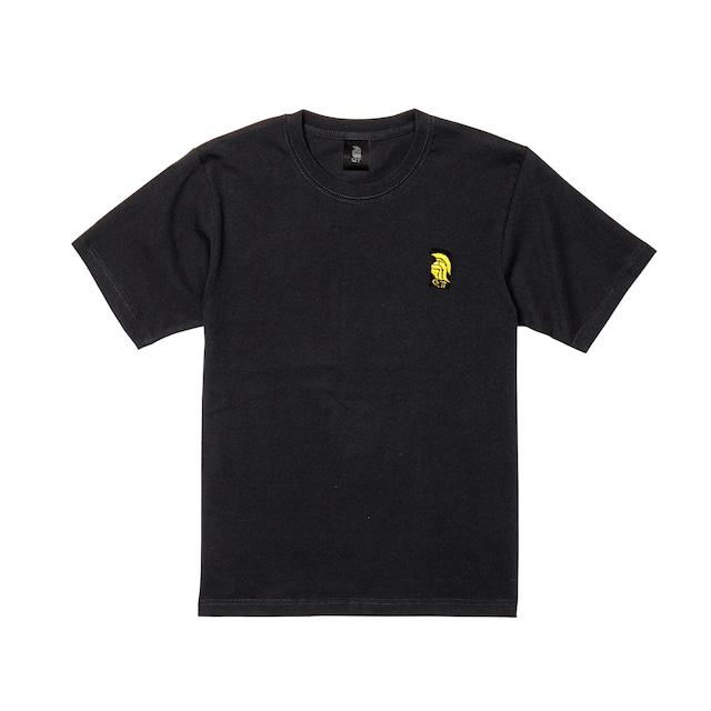 QTロゴ 半袖 黒