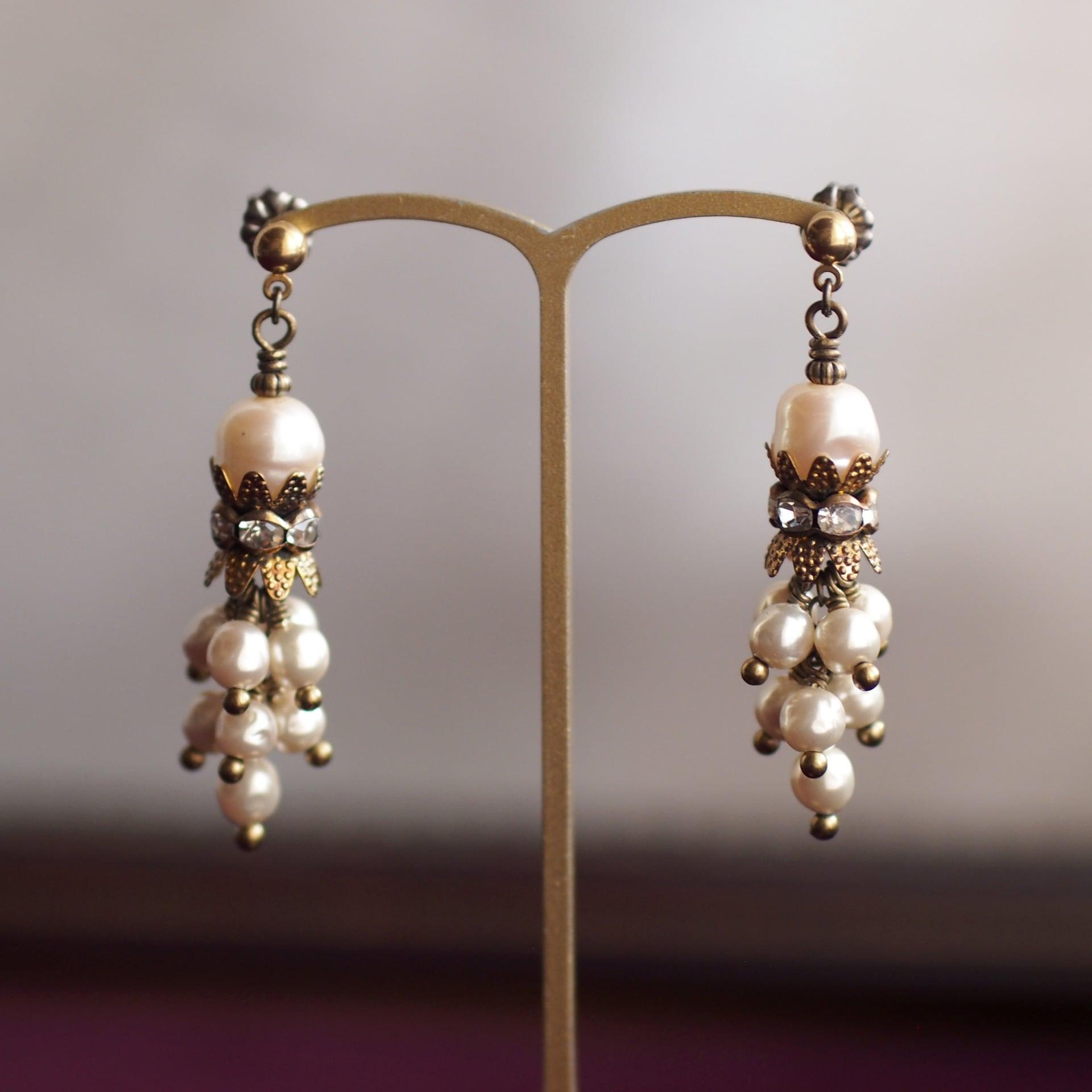 カーテンコール / 耳飾り(GlassPearl 王冠房)