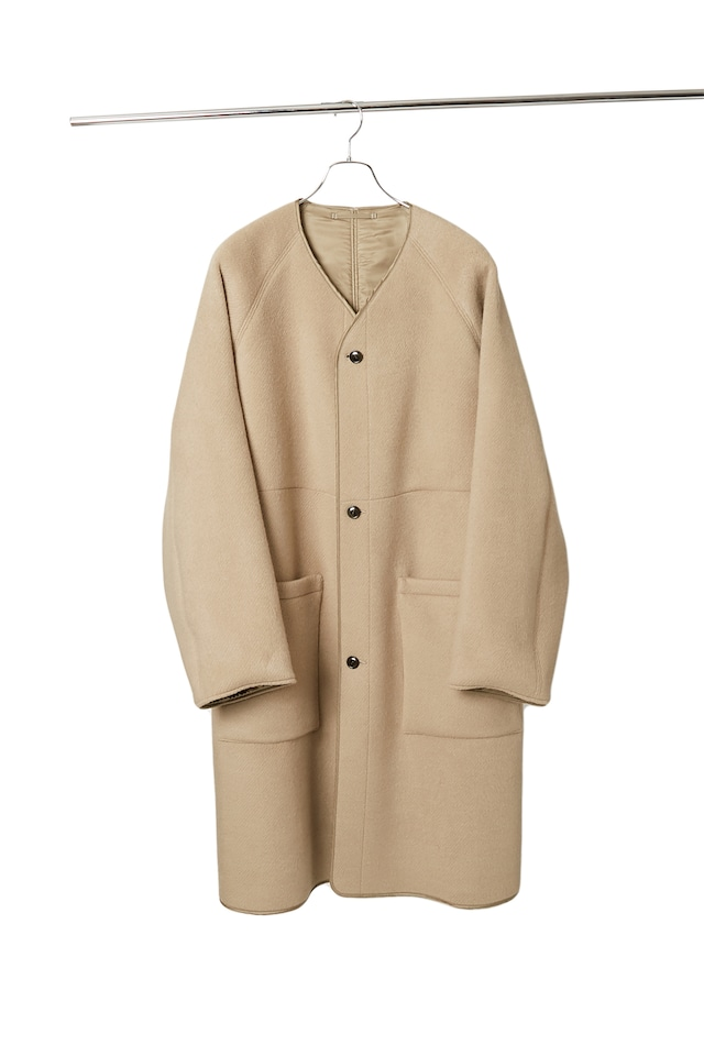 【product almostblack】Twin Face Melton Coat/20AW-PCO03