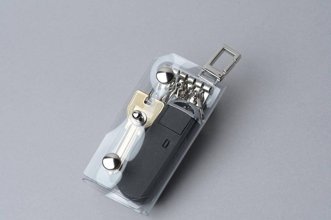 Triple Fold  Key Case  □クリア・SLV□ - 画像4