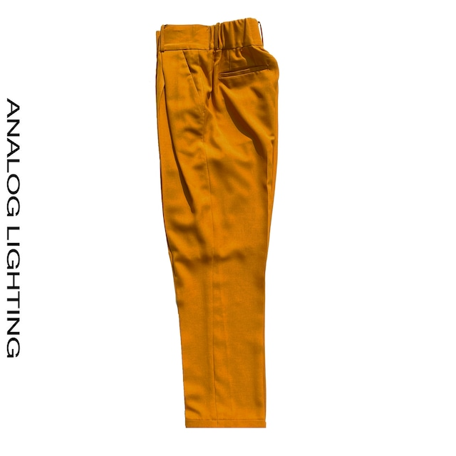 Cross Tuck Pants/MARIGOLD