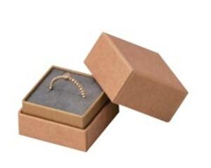 リング・ピアス・ペンダント兼用インロー式紙箱 正方形Sサイズ エンボス紙 20個入り AR-REP233