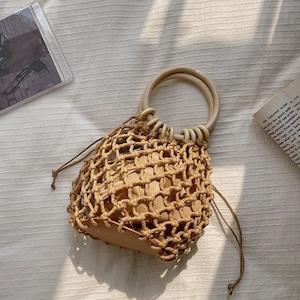 「数量限定」籠バッグセット LBH5682