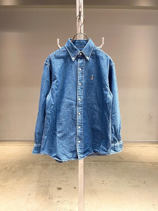 (KD303) 150cm Polo Ralph Lauren denim shirt