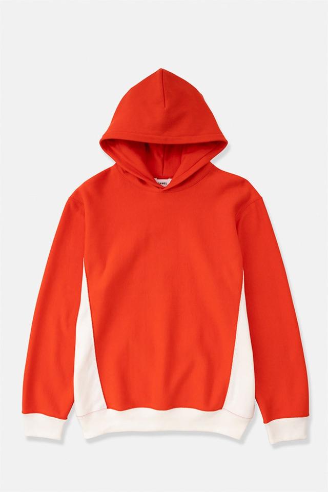 DIGAWEL / Reverse Weave Hoodie(RED)