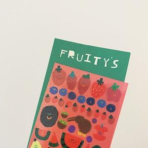 [DINOTAENG] Fruity's リムーバブル ステッカー