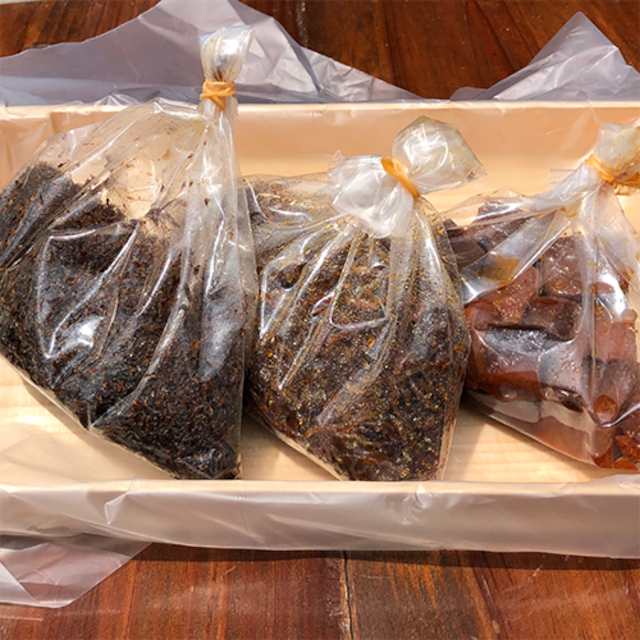 つくだ煮セット3種(袋タイプ、各100g)