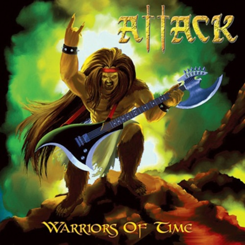 """ATTACK """"Warriors Of Time"""" (輸入盤)"""