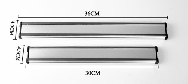 ダマスカス包丁 【XITUO 公式】 壁掛け マグネット式ナイフホルダー 30×4.5×1.9cm ks20032705