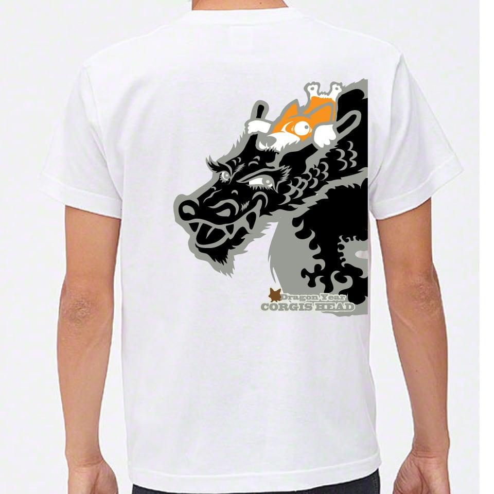 No.2020-welshcorgi-0019  : 5.6oz 2020 ブラックドラゴンに乗るコーギー