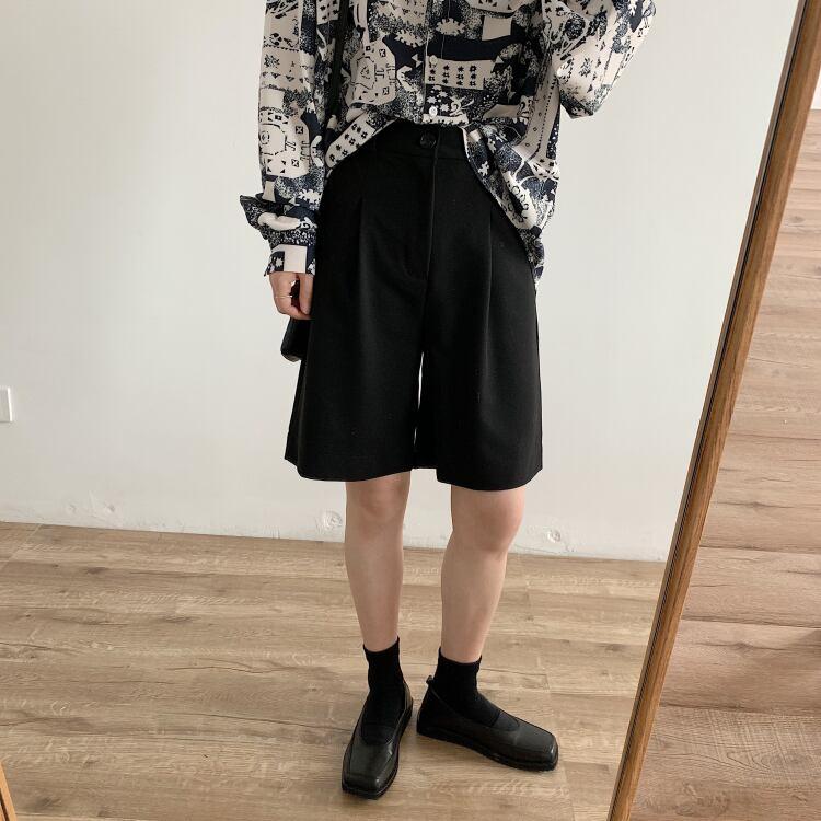 A line half pants(Aラインハーフパンツ)a-501