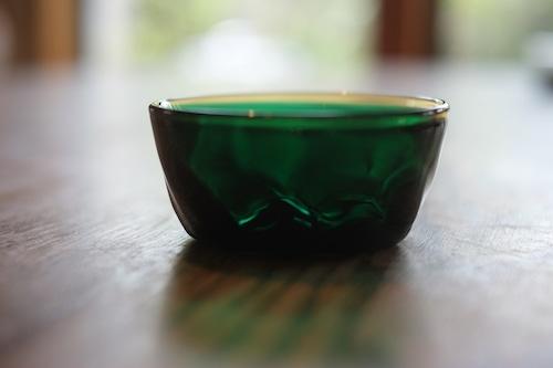 【カンナカガラス工房◆村松学】◆◆小鉢◆縁茶黒浅葱◆◆再入荷 !◆7/10◆
