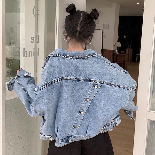 【アウター】ファッション長袖POLOネックシングルブレストジャケット43006543
