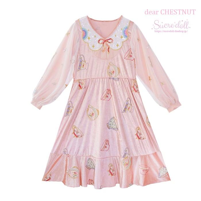 Milk teatime dress