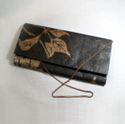 和紙のクラッチバッグ C-11