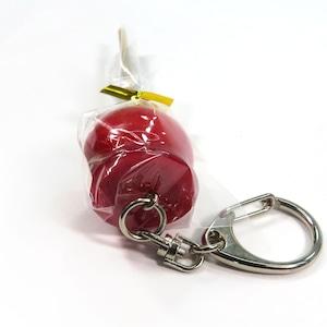 りんご飴 食品サンプル キーホルダー ストラップ