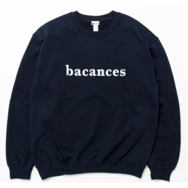BACANCES S LOGO SWEAT NAVY