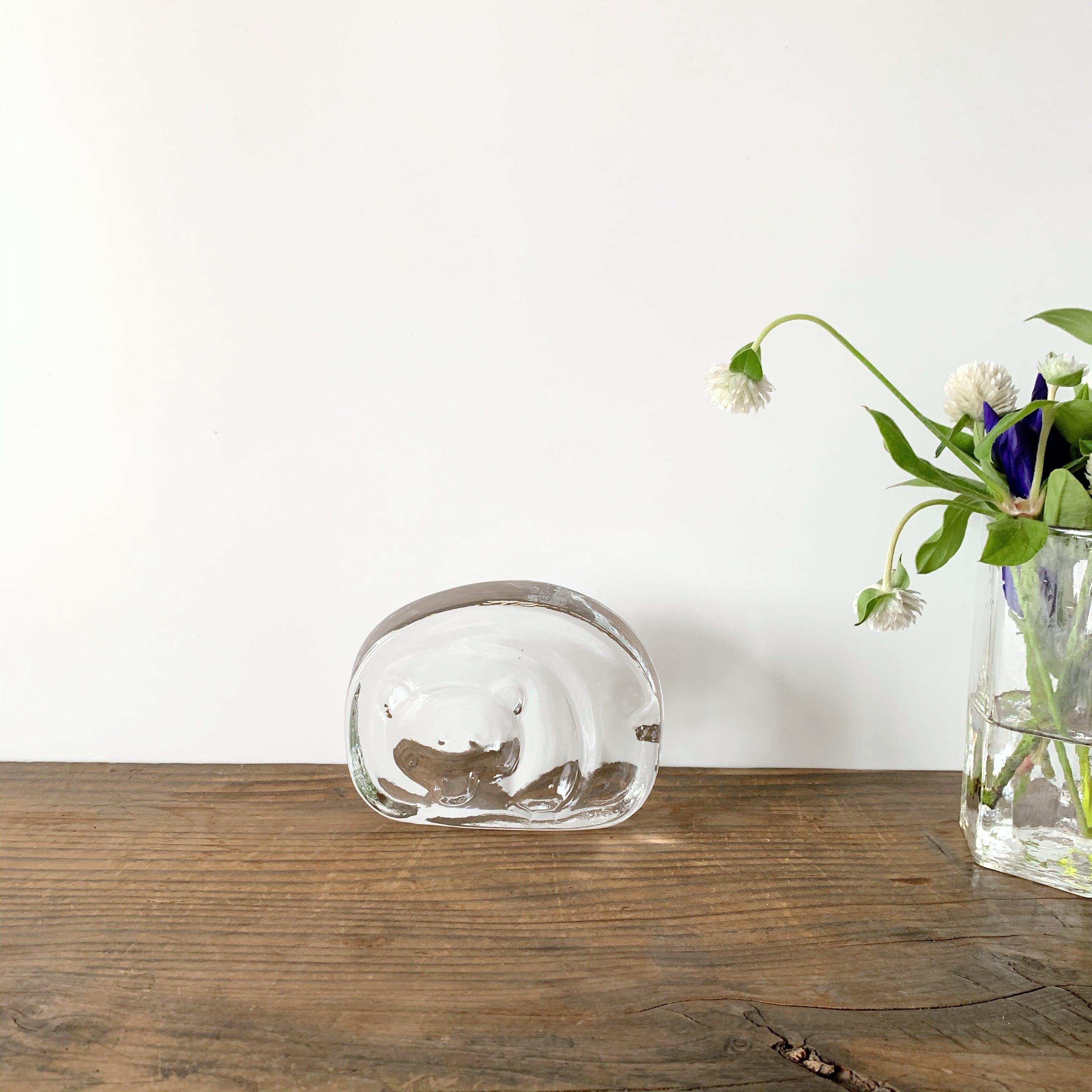 iittala / Glass Ashtray / Karhu