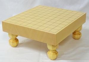 将棋盤 新かや 2寸 接合脚付盤