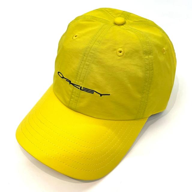 OAKLEY 6PANEL STRETCH CAP YELLOW