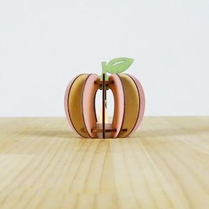 「もも」木製ミニランプ