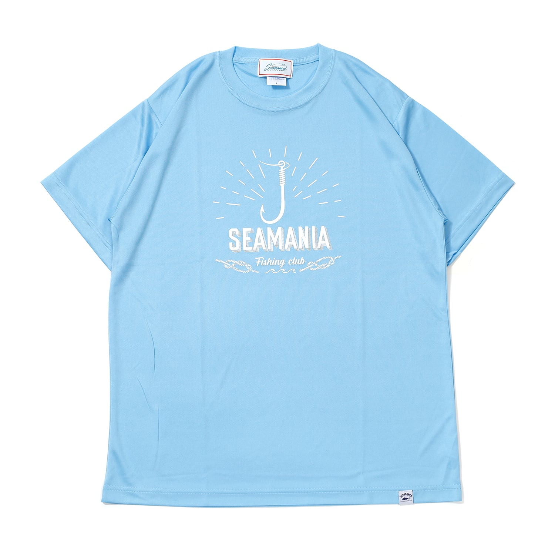 【Seamania】フックモチーフUV DRY Tシャツ [OCEAN]