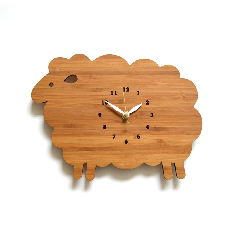 SHEEP ヒツジの掛け時計