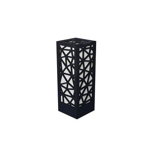 ミニ行灯 トライアングル - 置き型照明 Mサイズ ブラック