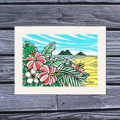 アートプリント A4(Kailua Sky)