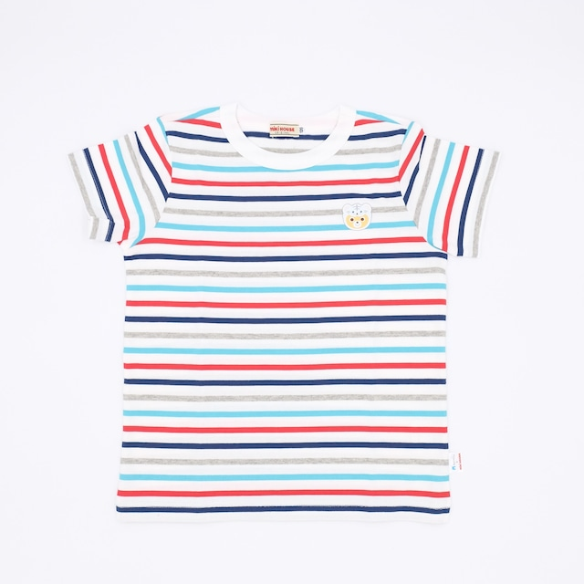 MIKI HOUSE × NIFREL Tシャツ(ボーダー)