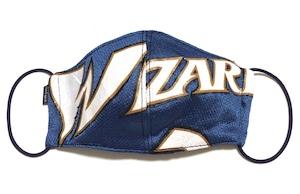 【デザイナーズマスク 吸水速乾COOLMAX使用 日本製】NBA WIZARDS SPORTS SPECIAL  MASK CTMR 0225017