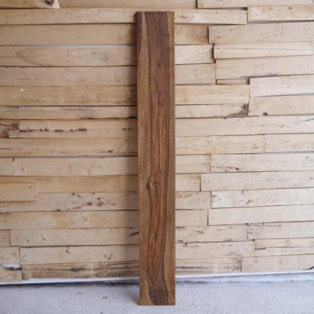 シーシャムウッド棚板 15×120××1.5cm