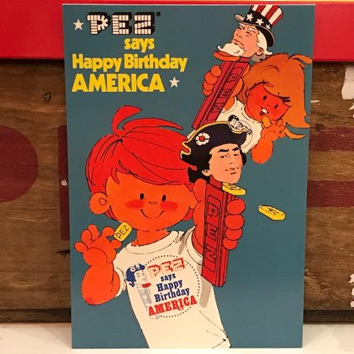 PEZ ペッツ ポストカード (厚紙仕様) アメリカ U.S.A.製 2003年