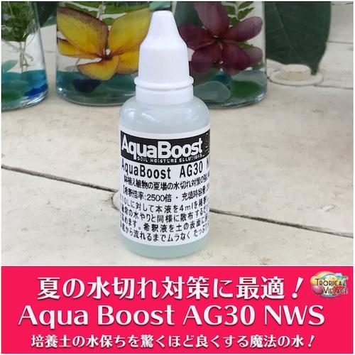 【夏場の水切れ対策に】水もちを良くする魔法の水 Aqua Boost AG30(20ml)●レターパックライト選択可●