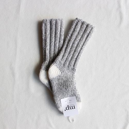 《MP 2017AW》SKI W. CONSTRAST Socks / Off White / 13-23cm