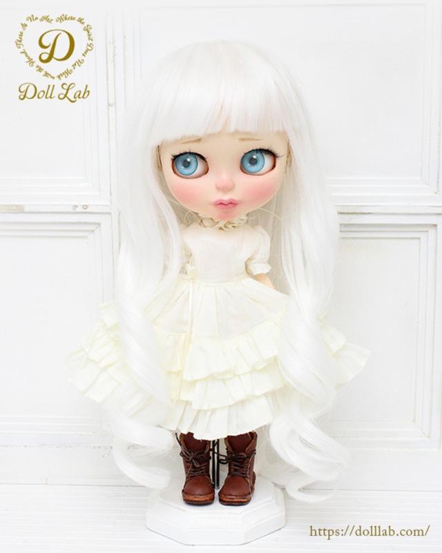 プリンセストルタ[12inch 髪ありブライス ]ピュアホワイト  DWL004-A005-12in