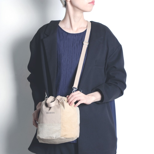14664700【DICKIES/ディッキーズ】REBUILD DRAWSTRING BAG M/巾着型再構築バッグ