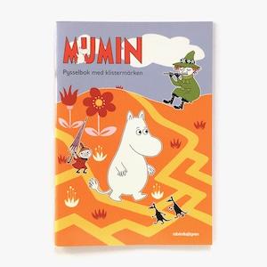 工作ブック「MUMIN - Pysselbok med klistermärken(ムーミン:シール付きパズルブック)」《2012-02》