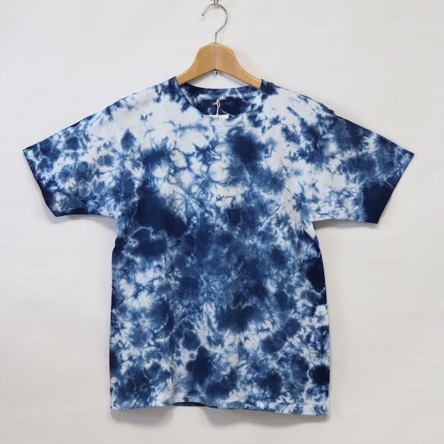 藍染Tシャツ【A】|Mサイズ