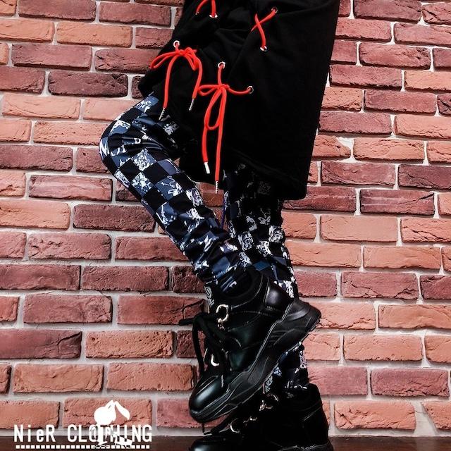 LEGGINGS PANTS【CHECK BEAT】