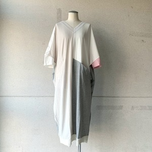 【bedsidedrama】Mix Color Dress/bsd21SS-26